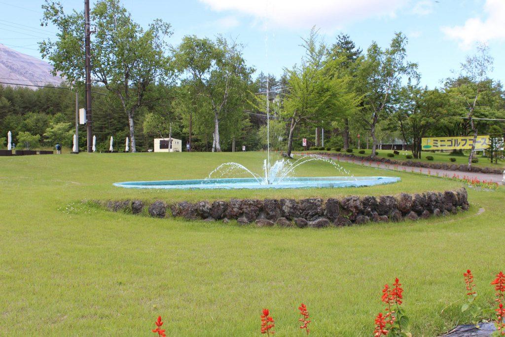 浅間ハイランドパークの噴水