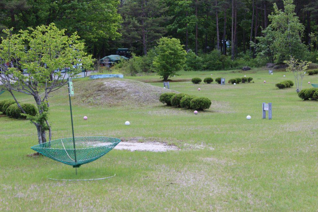 浅間ハイランドパークのターゲットバードゴルフ