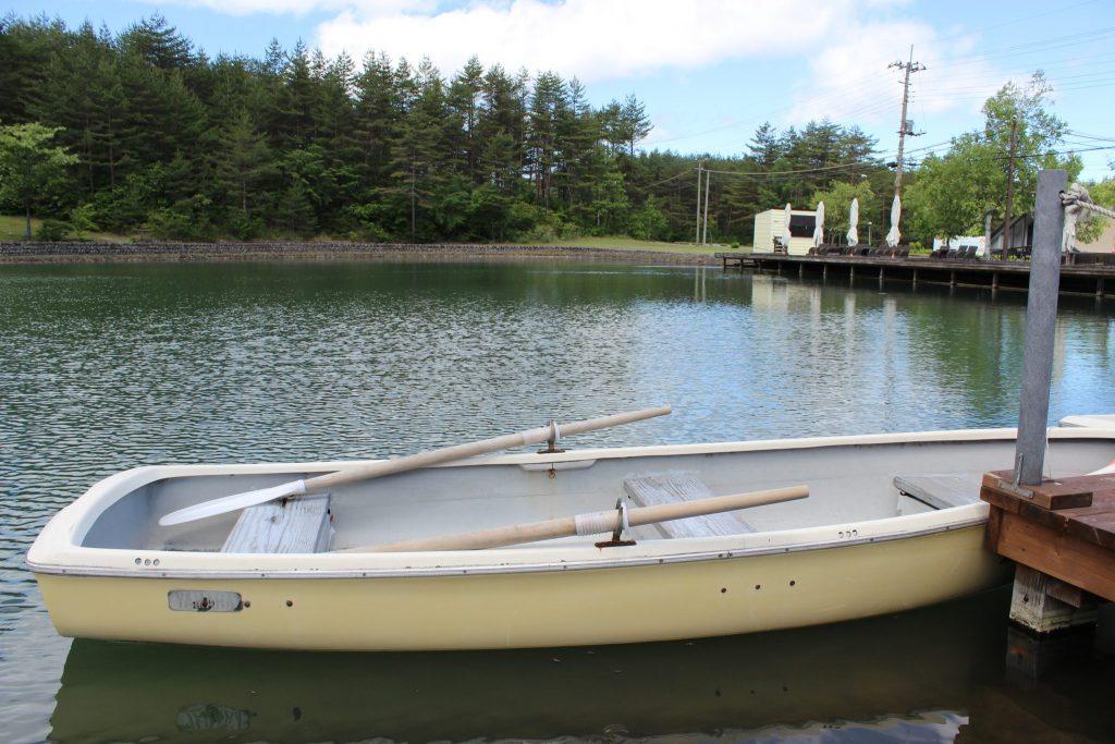 浅間ハイランドパークのボート
