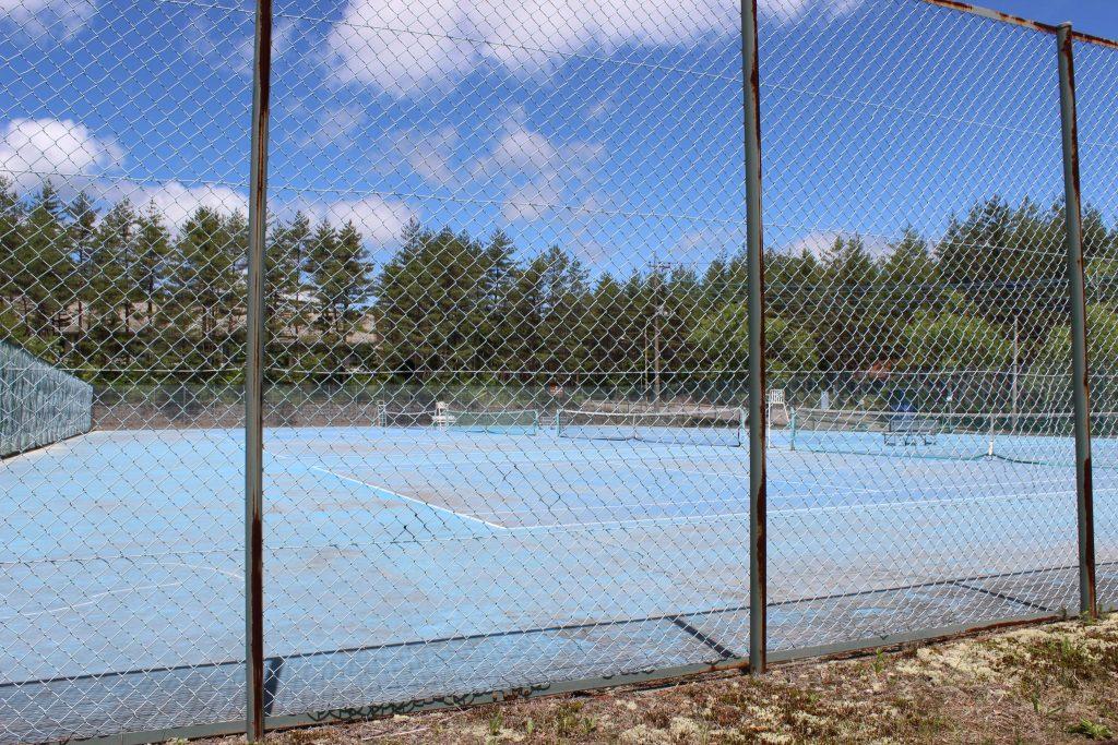 浅間ハイランドパークのテニスコート