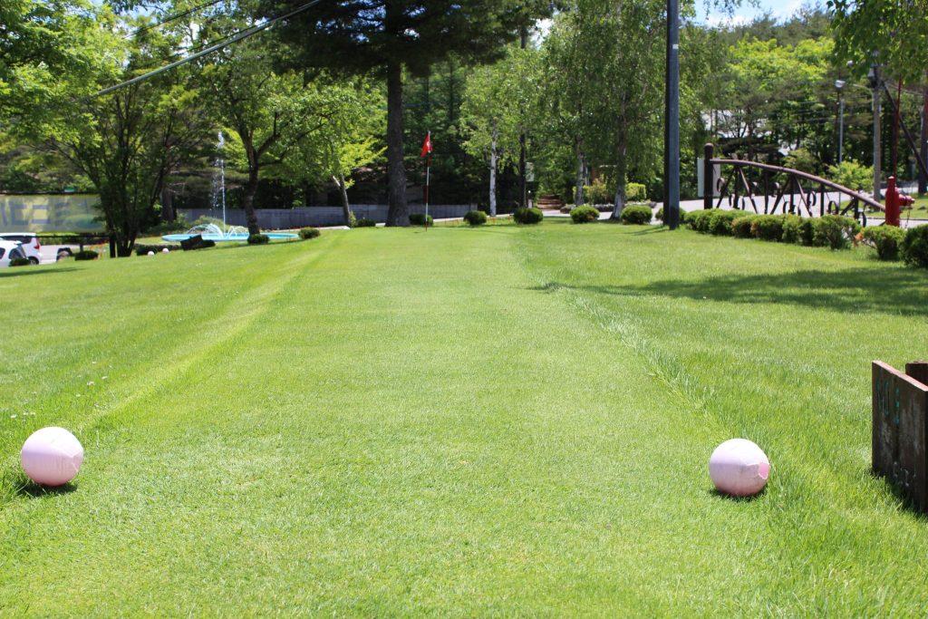 浅間ハイランドパークのパターゴルフ