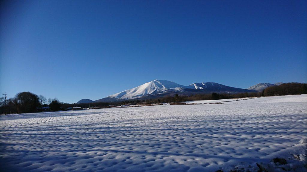 2018年12月13日の浅間山