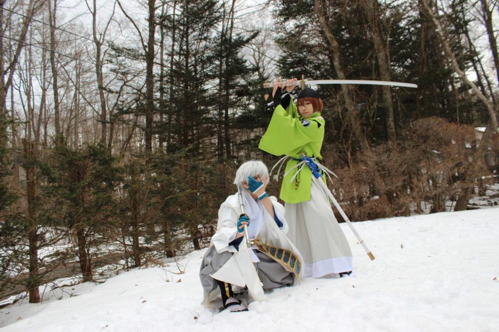 刀剣乱舞のレイヤーさんロイヤルスィート「オーロラ」