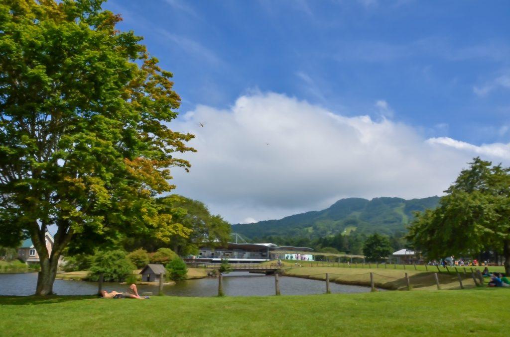 軽井沢でのんびり自然を満喫