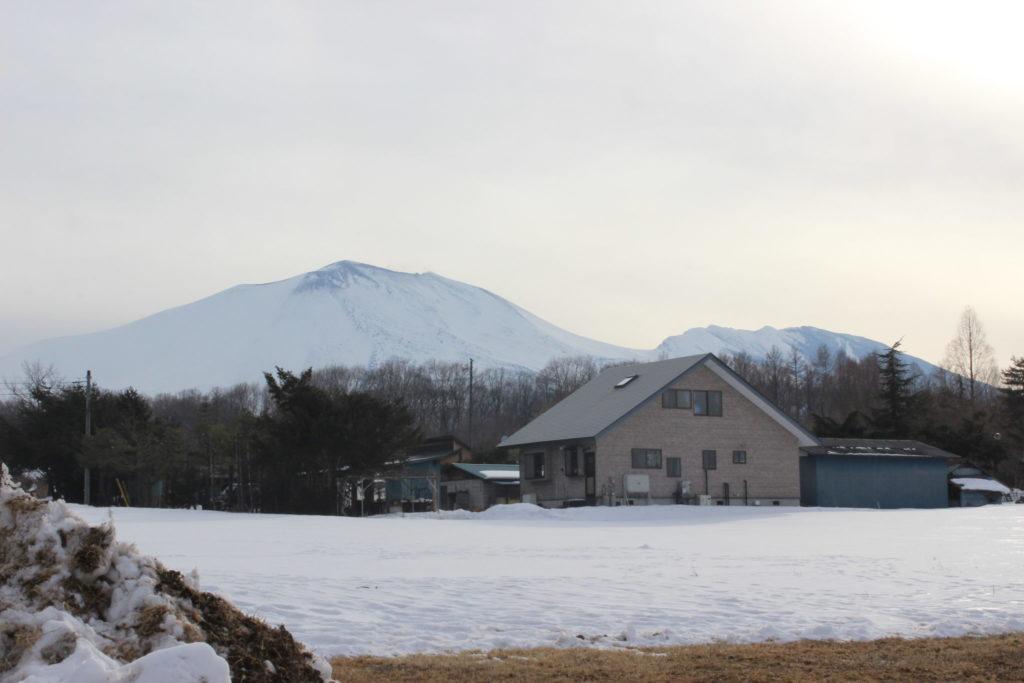 2月から3月にかけての浅間山