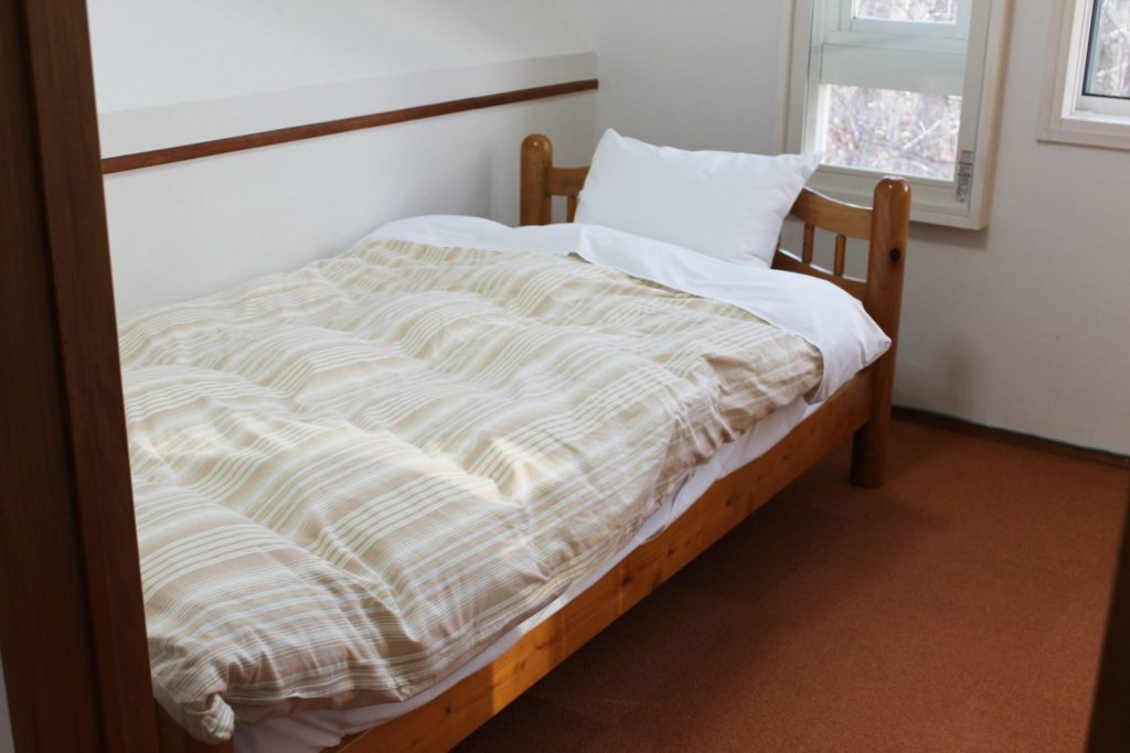 ロイヤルスィート「オーロラ」の2階ベッドルーム