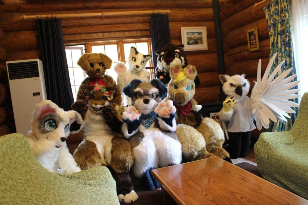 10月5日宿泊利用着ぐるみ動物キャラクターコスプレプラン