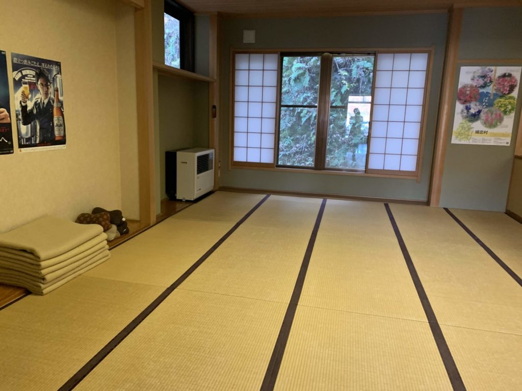 嬬恋高原温泉つつじの湯の休憩スペース