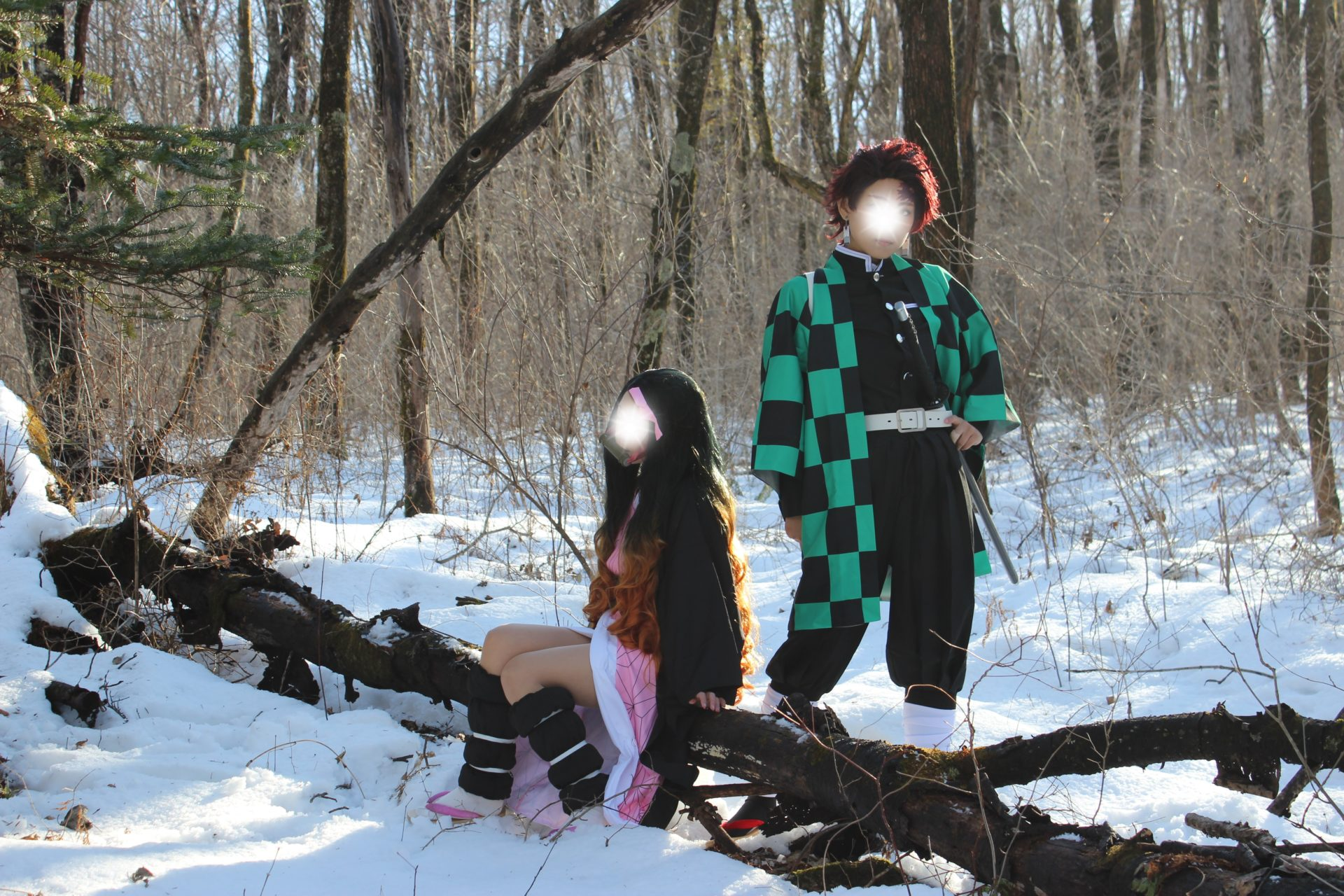 コスプレ雪ロケ撮影作品「鬼滅の刃」