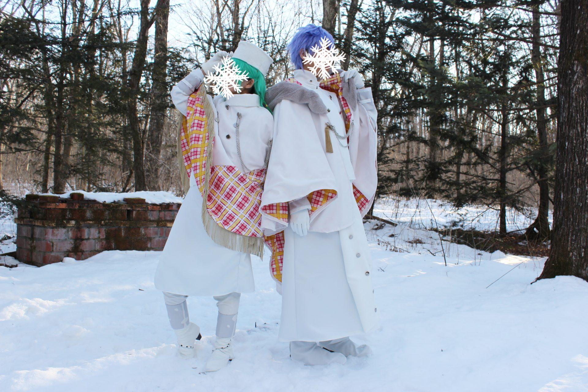 2月1日宿泊利用のコスプレイヤー「Bプロジェクト」ty機の衣装
