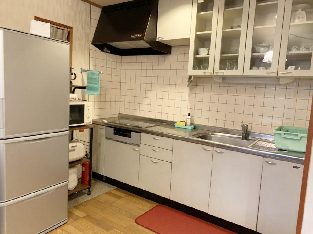 貸別荘ルネス軽井沢しおん星のキッチン