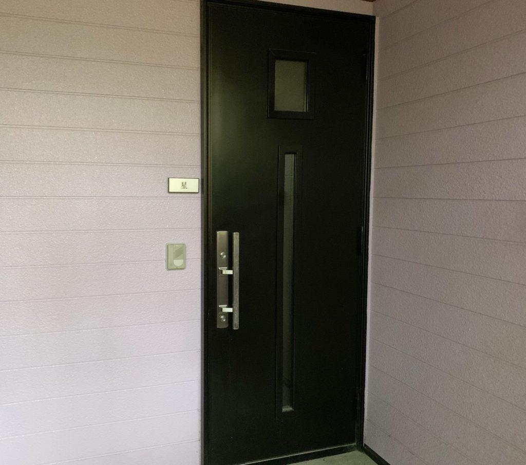 貸別荘ルネス軽井沢しおん星の玄関