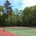 「ルネス軽井沢」のマイトンエリアのテニスコート